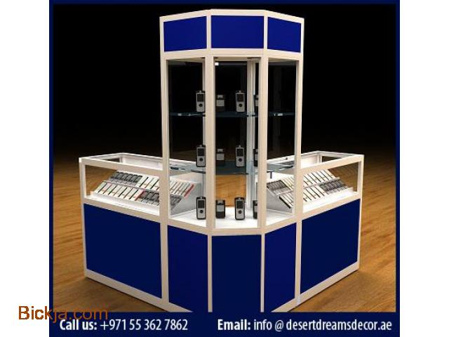 Exhibition Stand Makers In Dubai : Exhibition kiosk and display stands food mall