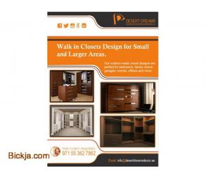 Walk in Closets Dubai | Creative Closets in UAE.