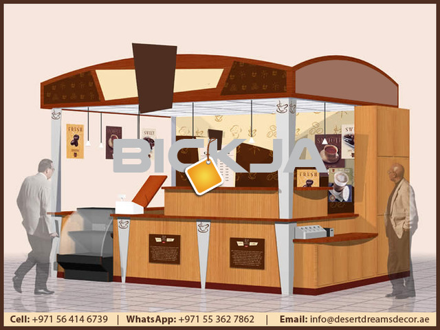 Retail Kiosk in Dubai | Outdoor Kiosk | Foods Kiosk | Kiosk