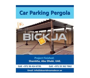 Wooden Pergola Dubai | Car Garage Pergola | Swimming Pool Pergola Uae.