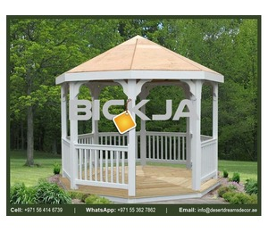 Wooden Gazebo in Uae | Outdoor Gazebo | Manufacturer and Install Gazebo in Uae.