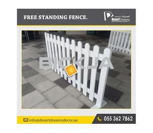 Events Fences Abu Dhabi | Outdoor Fences | Picket Fences | Free Stand Fences Uae.