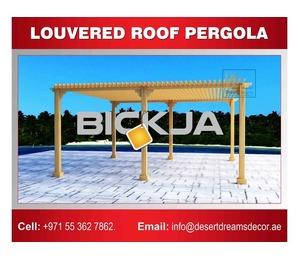 Garden Wooden Structure Uae | Outdoor Pergola | Garden Pergola | Pergola Dubai | Ajman | Al Ain.