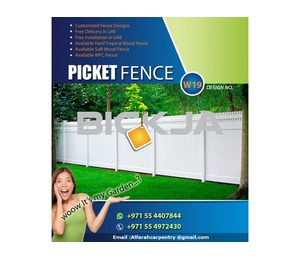 Wooden fence Manufacturer And Install In Dubai , Abu Dhabi , Ajman