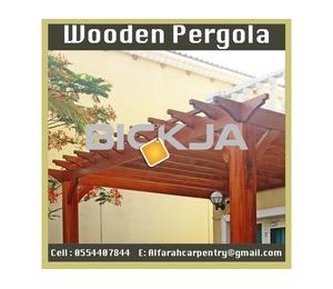 Wooden Pergola Build And Install Abu Dhabi |Pergola Dubai |Pergola Suppliers In UAE