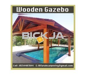 Outdoor Wooden Gazebo | Thatched Gazebo | Gazebo Suppliers | Wooden Gazebo Dubai