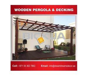 Wooden Pergola and Gazebo Contractor in Dubai, Abu Dhabi, Ajman, Al AIn, UAE.