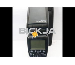 Canon 600EX RT speedlite flash