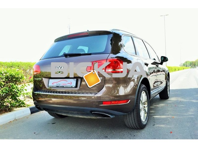 GCC VOLKSWAGEN TOUAREG 2012 - ZERO DOWN PAYMENT - 1,080 AED/MONTHLY - 1 YEAR WARRANTY - 4/4