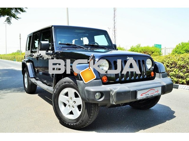 GCC JEEP WRANGLER SAHARA UNLIMITED 2007 - CAR IN GOOD CONDITION - PRICE NEGOTIABLE - 1/3