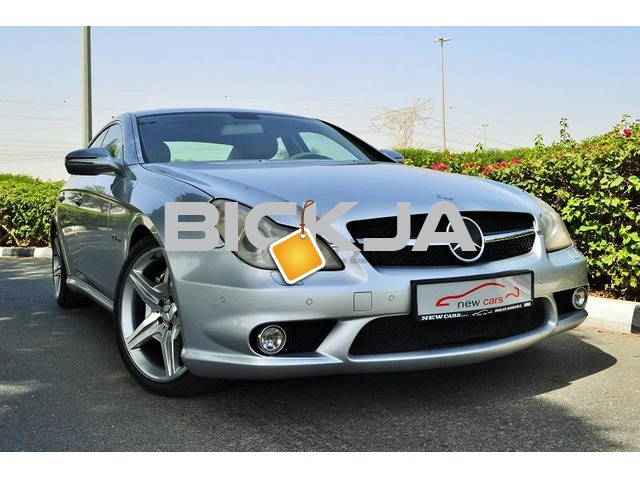 GCC MERCEDES CLS63 AMG 2009 - ZERO DOWN PAYMENT - 1,810 AED/MONTHLY - 1 YEAR WARRANTY - 1/3