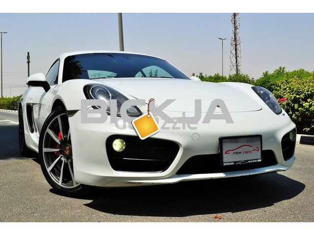GCC PORSCHE CAYMAN S 2014 - ZERO DOWN PAYMENT - 2,330 AED/MONTHLY - 1 YEAR WARRANTY - 1/4