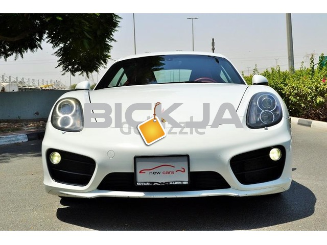 GCC PORSCHE CAYMAN S 2014 - ZERO DOWN PAYMENT - 2,330 AED/MONTHLY - 1 YEAR WARRANTY - 3/4