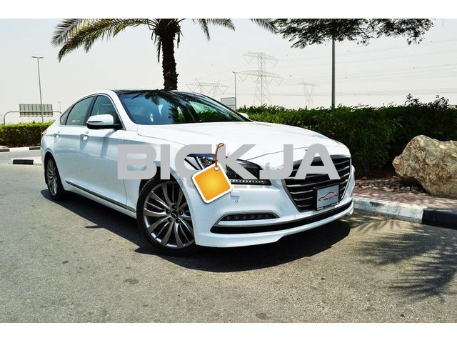 GCC HYUNDAI GENESIS 2015 - ZERO DOWN PAYMENT - 1,750 AED/MONTHLY - WARRANTY UP TO 2020 - 1/3