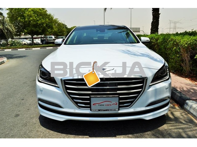 GCC HYUNDAI GENESIS 2015 - ZERO DOWN PAYMENT - 1,750 AED/MONTHLY - WARRANTY UP TO 2020 - 2/3