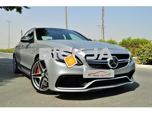 MERCEDES C63 AMG 2015 - ZERO DOWN PAYMENT - 3900 AED/MONTHLY - UNDER WARRANTY - 1/3