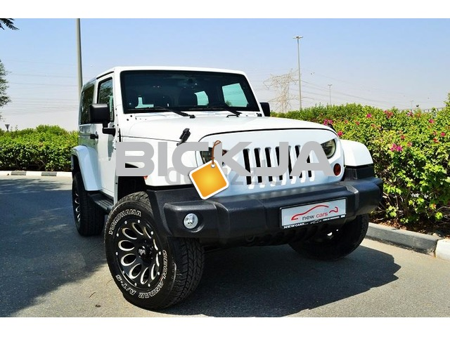 GCC JEEP WRANGLER SAHARA 2013 - ZERO DOWN PAYMENT - 1,330 AED/MONTHLY - 1 YEAR WARRANTY - 1/3