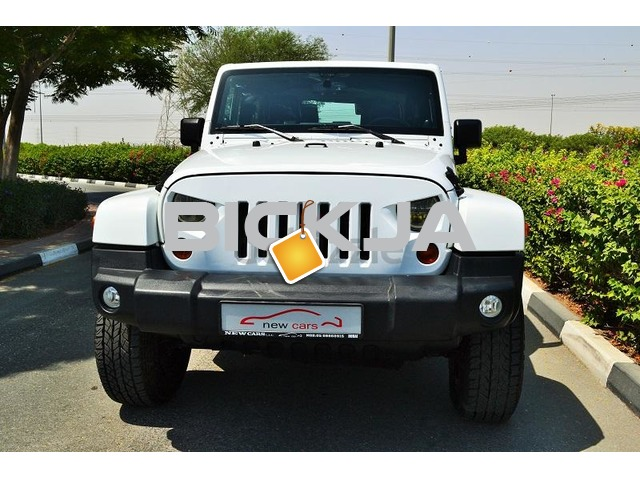 GCC JEEP WRANGLER SAHARA 2013 - ZERO DOWN PAYMENT - 1,330 AED/MONTHLY - 1 YEAR WARRANTY - 2/3