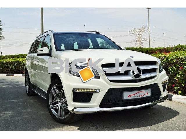 GCC MERCEDES GL500 EMC 2013 - ZERO DOWN PAYMENT - 2,840 AED/MONTHLY-DEALER WARRANTY UNTIL MAY 2018 - 1/3