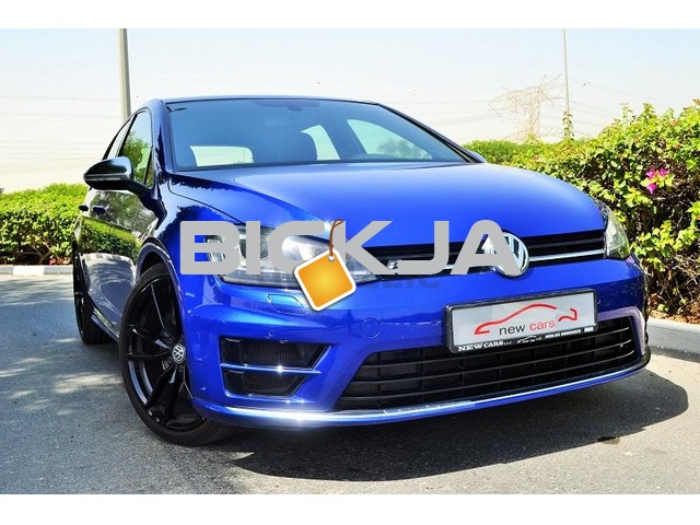 GCC VOLKSWAGEN GOLF R 2016 - ZERO DOWN PAYMENT - 2,135 AED/MONTHLY - UNDER WARRANTY - 1/3