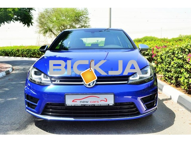 GCC VOLKSWAGEN GOLF R 2016 - ZERO DOWN PAYMENT - 2,135 AED/MONTHLY - UNDER WARRANTY - 2/3