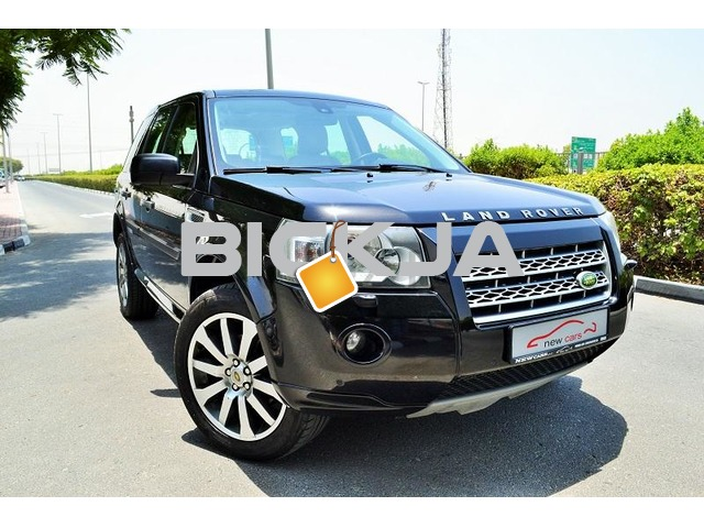 GCC LAND ROVER LR2 HSE 2010 - ZERO DOWN PAYMENT - 595 AED/MONTHLY - 1 YEAR WARRANTY - 1/2
