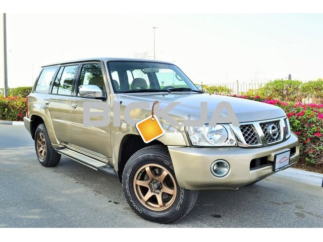 GCC NISSAN PATROL SAFARI 2004 - CAR IN GOOD CONDITION - NO ACCIDENT - PRICE NEGOTIABLE - 1/3