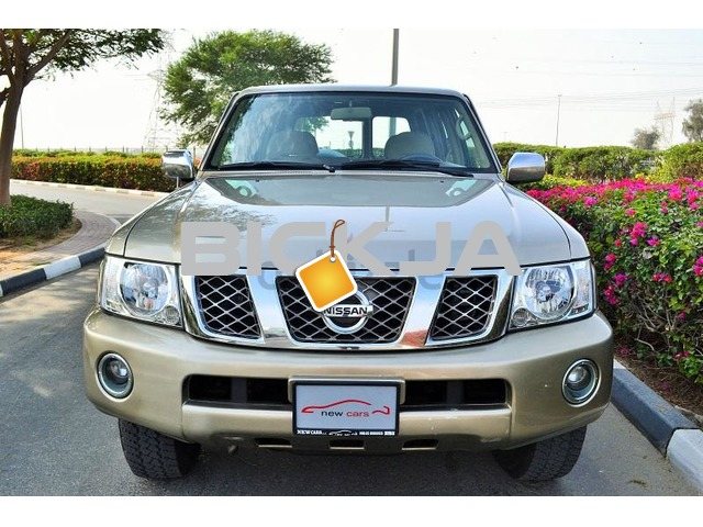 GCC NISSAN PATROL SAFARI 2004 - CAR IN GOOD CONDITION - NO ACCIDENT - PRICE NEGOTIABLE - 2/3