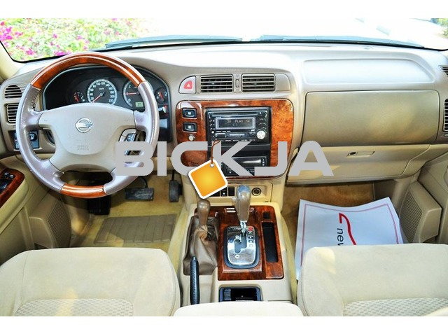 GCC NISSAN PATROL SAFARI 2004 - CAR IN GOOD CONDITION - NO ACCIDENT - PRICE NEGOTIABLE - 3/3