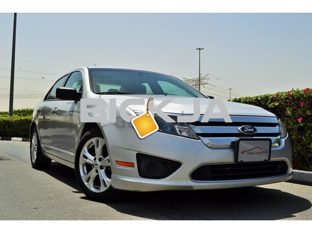 GCC FORD FUSION 2012 - ZERO DOWN PAYMENT - 375 AED/MONTHLY - 1 YEAR WARRANTY - 1/3