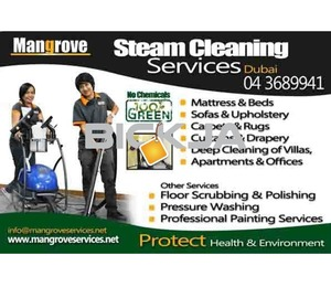 Deep/Steam Cleaning Services in Dubai (Curtain,Mattress,Carpet, Sofa)