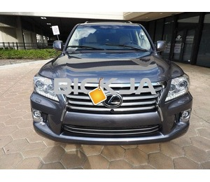 ACCIDENT FREE 2014 LEXUS LX 570 USED.