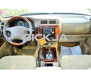 GCC NISSAN PATROL SAFARI 2004 - CAR IN GOOD CONDITION - NO ACCIDENT - PRICE NEGOTIABLE