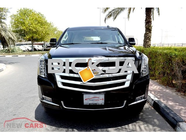 BRAND NEW CADILLAC ESCALADE 2017 - ZERO DOWN PAYMENT - 5,270 AED/MONTHLY - WARRANTY & FREE SERV - 1/3