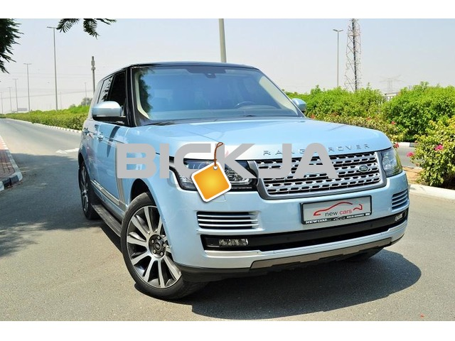 GCC RANGE ROVER VOUGE 2015 - ZERO DOWN PAYMENT - 5,855 AED/MONTHLY - 5 YEARS WARRANTY - 1/2