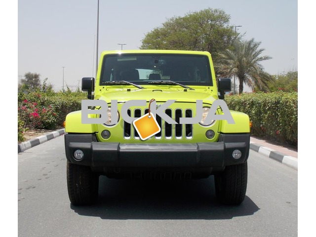 Brand New 2016 JEEP WRANGLER SAHARA UNLIMITED 3.6L V6 GCC With 3 Yrs/60000 km AT the Dealer - 1/3