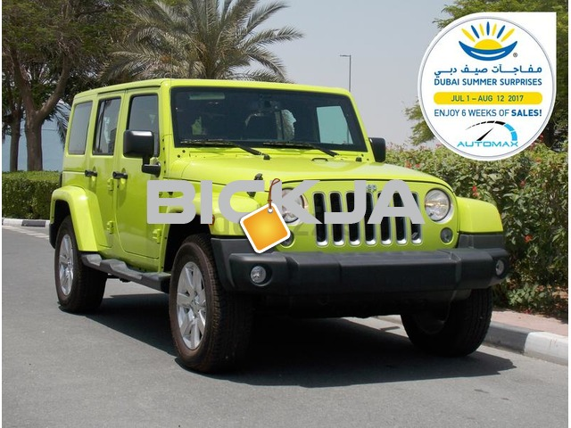 Brand New 2016 JEEP WRANGLER SAHARA UNLIMITED 3.6L V6 GCC With 3 Yrs/60000 km AT the Dealer - 3/3