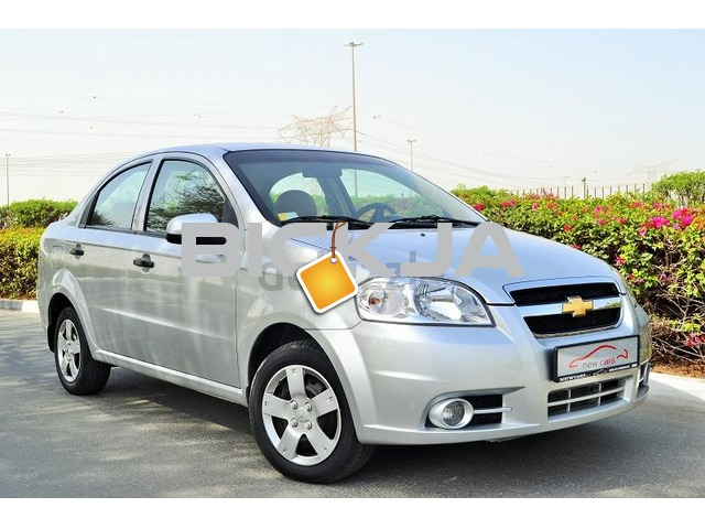 GCC CHEVROLET AVEO LS 2014 - ZERO DOWN PAYMENT - 420 AED/MONTHLY - 1 YEAR WARRANTY - 1/2