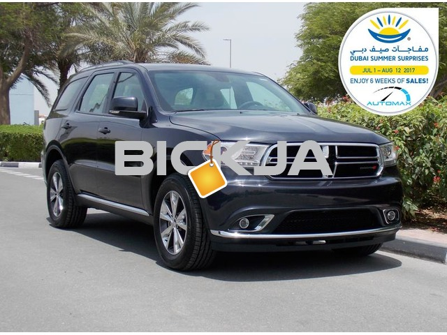 Brand New 2016 DODGE DURANGO LIMITED 3 YRS or 60000 Km Dealer Warranty - 1/3