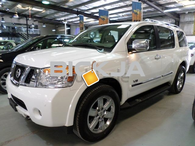 "2011 NISSAN ARMADA LE 4X4 (8 SEATER) ""V8, 5.6 LTR"" EXCELLENT FAMILY 4X4 - 1/2"