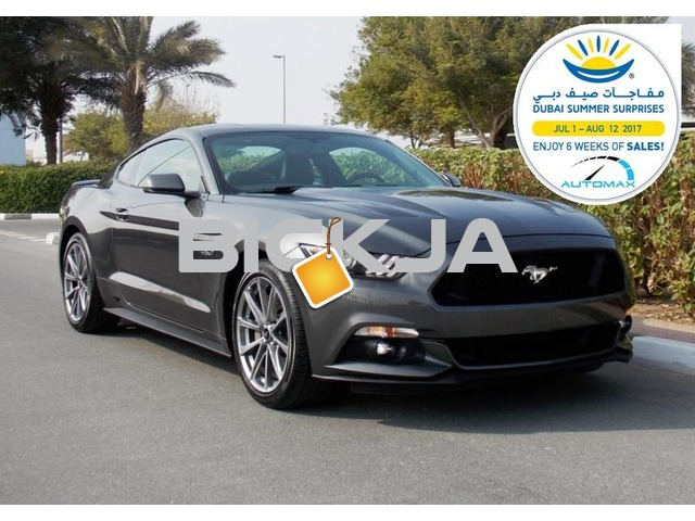 Brand New 2017 Ford Mustang GT PREMIUM + 435 hp 0 km A/T 3Yrs / 100,000 km Warranty - 1/4