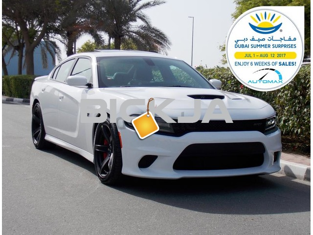 2017 Brand New Dodge Charger Hellcat V8 3 Yrs/100,000 km WNTY # Apple Car Play #Android Auto - 1/3