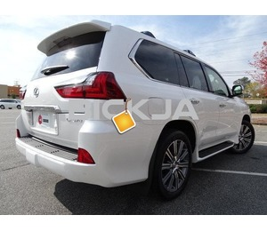LEXUS LX570 2016 WHITE UNDER WARRANTY 5 years