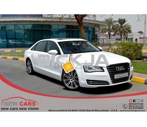 GCC AUDI A8L 2012 - ZERO DOWN PAYMENT - 1,450 AED/MONTHLY - 1 YEAR WARRANTY