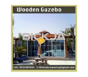 Restaurant And Beach Wooden Gazebo | Garden Gazebo Suppliers | Wooden Gazebo Dubai