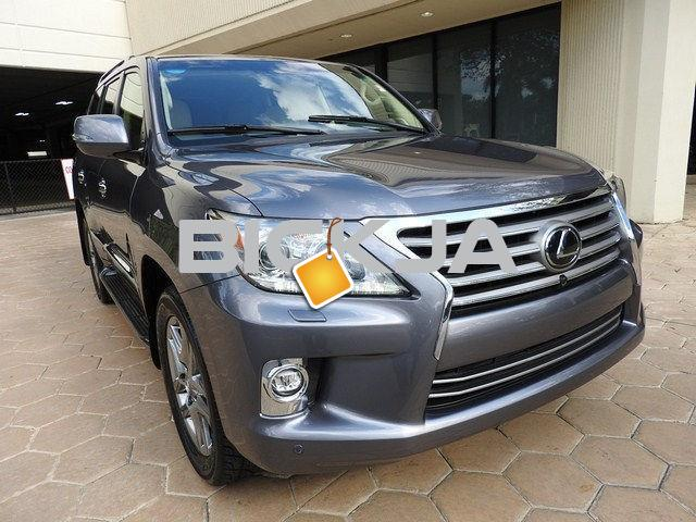 BUY MY 2014 LEXUS LX 570 FAMILY CAR - 3/4