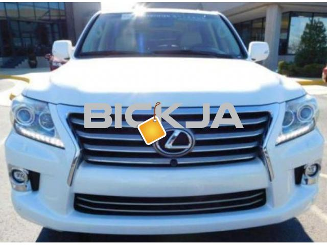 LEXUS LX 570 2014 MODEL, 7 SEATER - 1/4