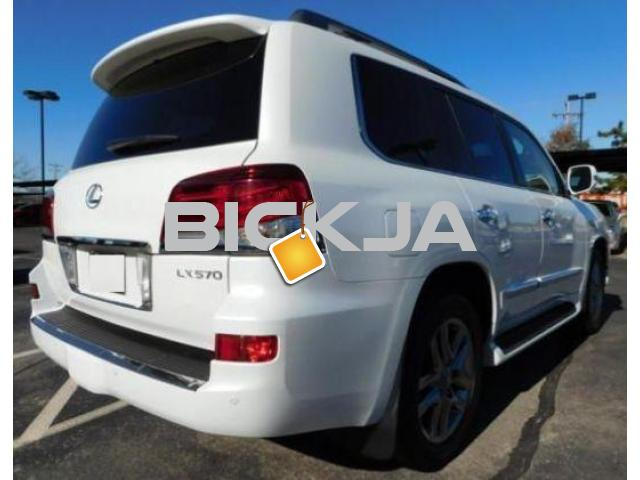 LEXUS LX 570 2014 MODEL, 7 SEATER - 4/4
