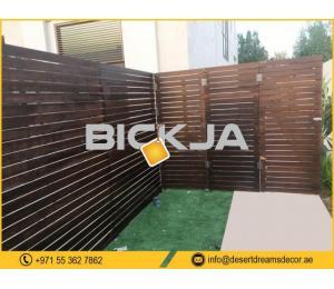 Garden Fences Dubai | Events Fences Uae | Free Standing Fences Suppliers in Uae.