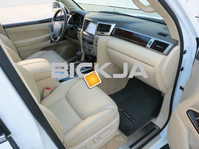 2013 LEXUS LX 570 GCC USED - 4/4
